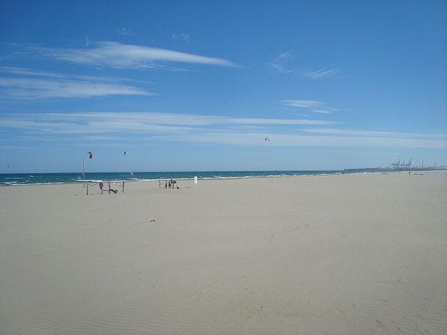 Playa Gurugú en Costa del Azahar
