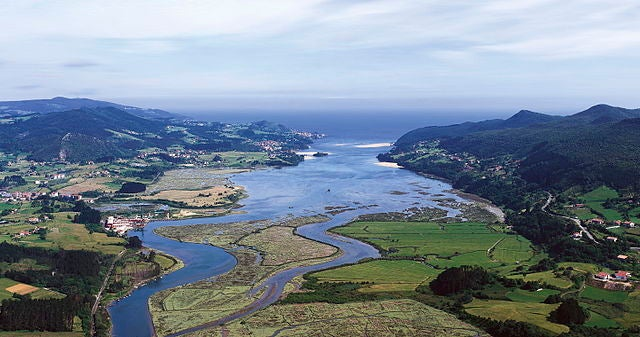 Urdaibai en el País Vasco