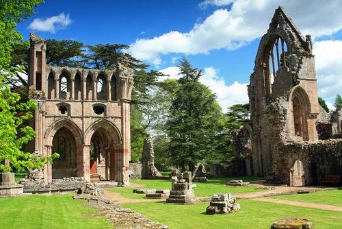 Abadía de Dryburg en Escocia