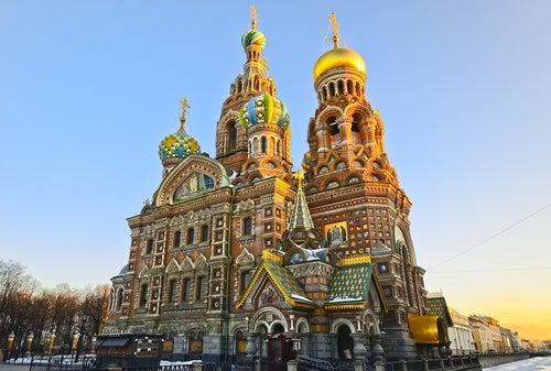 Iglesia del Salvador sobre la Sangre Derramada en San Petersurgo