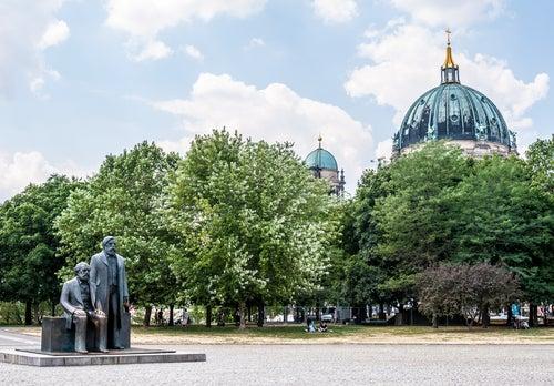Marx-Engels Forum en Berlín