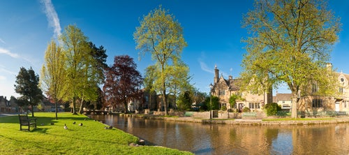 Bourton on de Water en Inglaterra