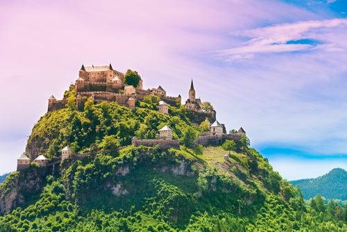 Conoce Hochosterwitz, un castillo de cuento de hadas en Austria