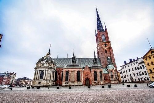 Iglesia de Riddarholmen en Estocolmo