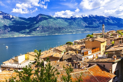 Limone en el Lago di Garda