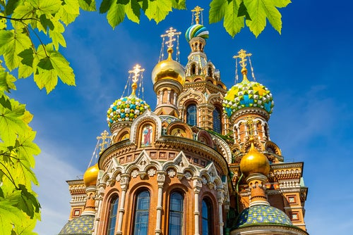Iglesia del Salvador sobre la Sangre Derramada en San Petersburgo