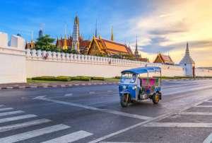 Tuk tuk en Tailandia