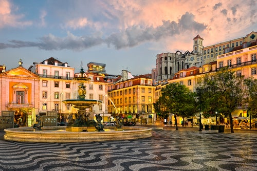 Plaza del Rocío de Lisboa