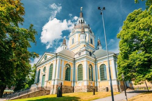 Iglesia de Santa Catalina en Estocolmo