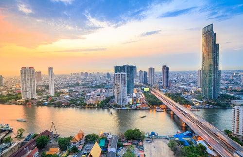 Bangkok en Tailandia