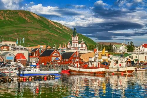 Husavik en Islandia