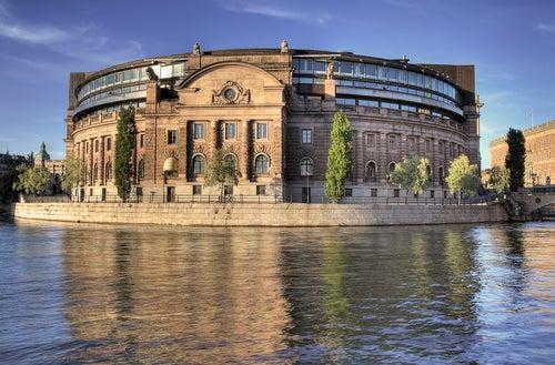 Parlamento en Estocolmo