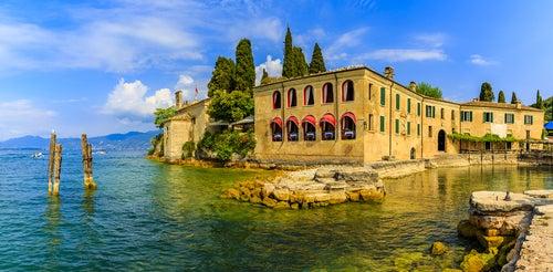 Punta San Vigilio en el Lago di Garda