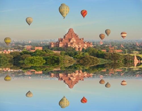 10 lugares del mundo para conocer en globo