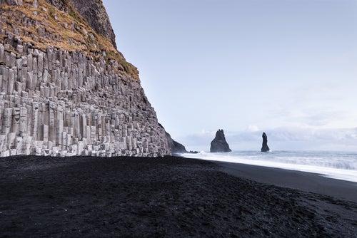 Acantilados de Dyrholahey en Islandia
