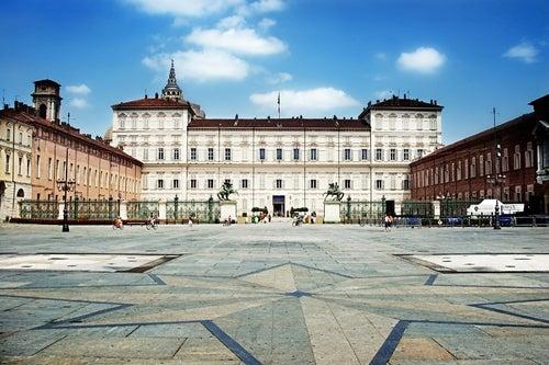 Piazza Castello en Turín