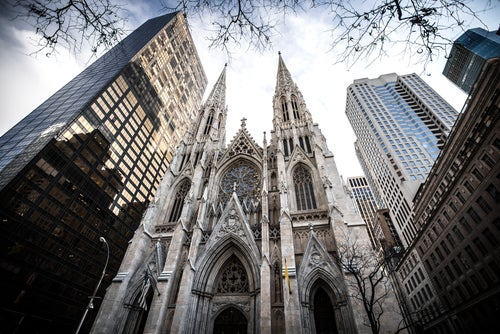 Catedral de San Patrick's en Nueva York