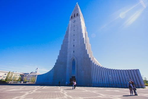 Hallgrimskirkja en Islandia