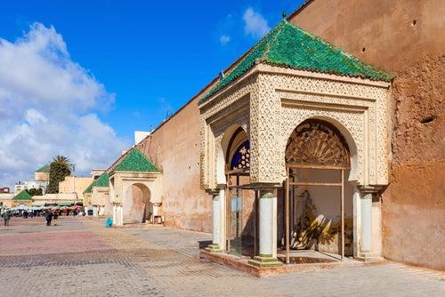 Plaza El Hedim en Meknes