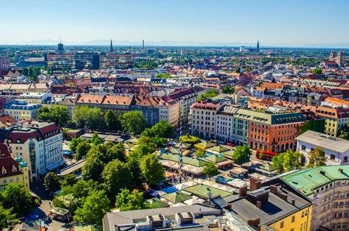 Viktualienmarkt en Múnich