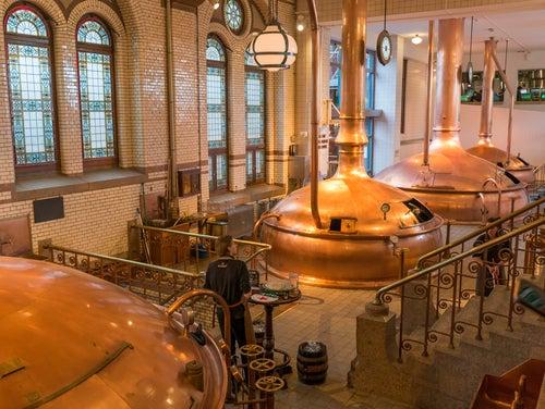Fábrica de cerveza en Ámsterdam