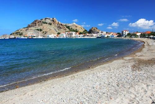 Limnos en islas griegas