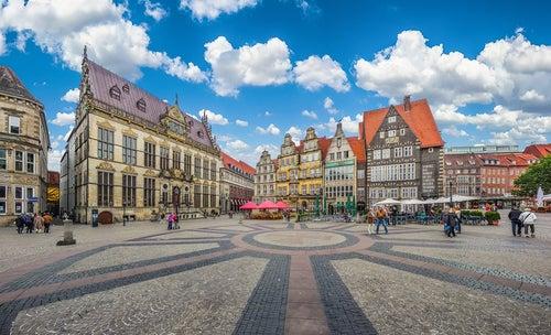 Plaza del Mercado de Bremen