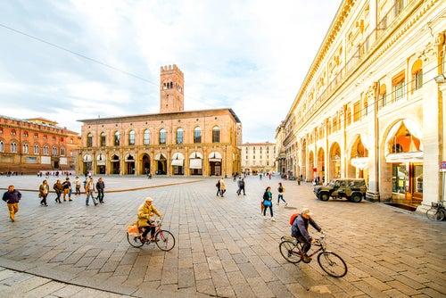 Bolonia en Italia