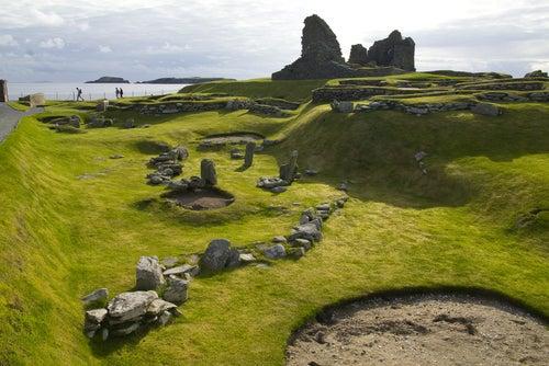 Islas Shetland en Escocia