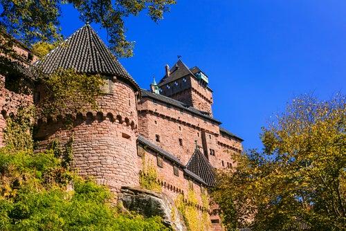 Haut-Koenigsbourg en Alsacia