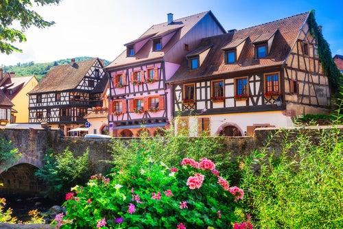 Kaysersberg en Alsacia
