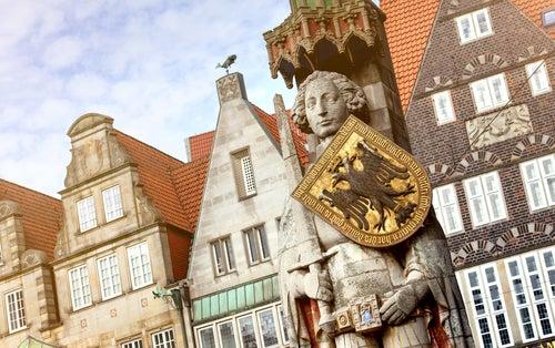 Estatua de Rolando en Bremen