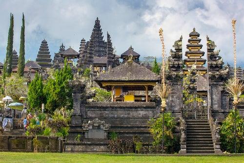Templo Pura Besakih en Bali