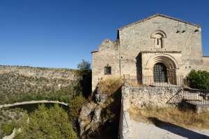 Ermita de San Frutos en las Hoces del Duratón