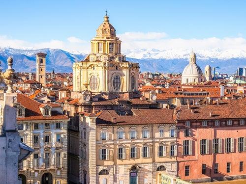 Turín en Italia
