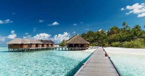 Resort en islas Maldivas