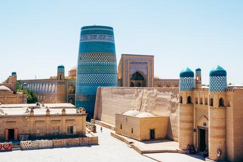 Minarete Kalta Minor en Khiba