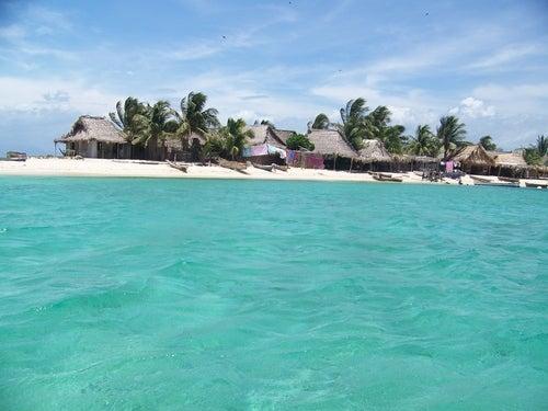 Cayos Cochinos en el Caribe