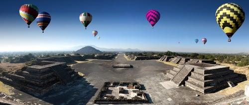 Teotihuacán en México
