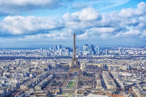 París desde la Torre Montparnasse