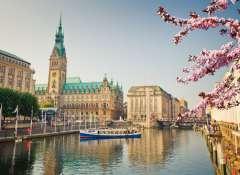 Hamburgo en el norte de Alemania