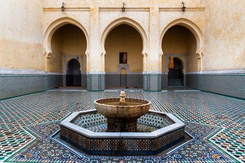 Mausoleo Moulai Ismail en Meknes