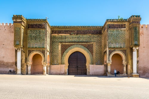Puerta Mansour en Meknes