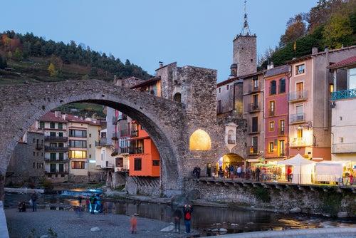 puente de Camprodón en Girona