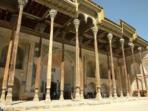 Mezquita en Khiva