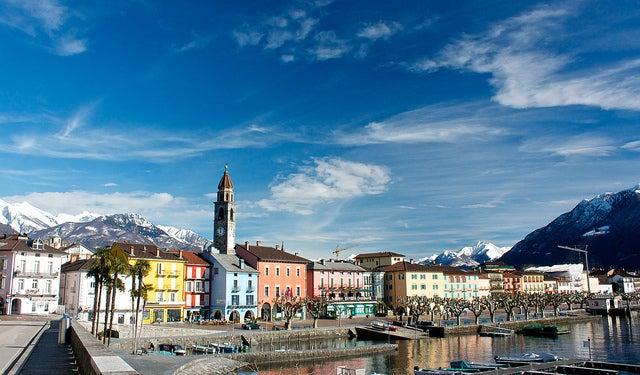 Pueblos de Suiza, Ascona