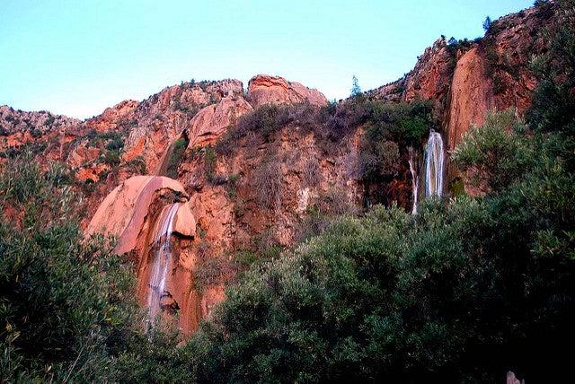 Cascadas de Imouzzer en la ruta por Marruecos