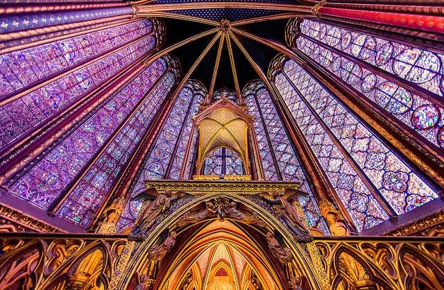 La Sainte Chapelle, una joya gótica en París