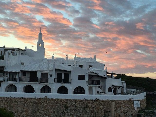 Binibeca en la bella Menorca