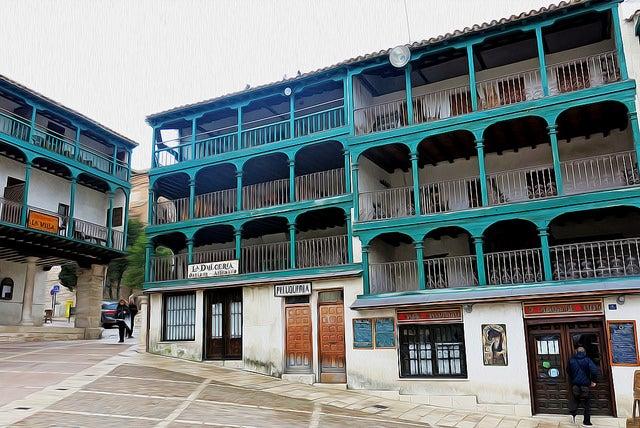Balcones de la Plaza Mayor de Chinchón